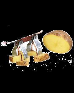 Świecący piesek zasilany ziemniakiem